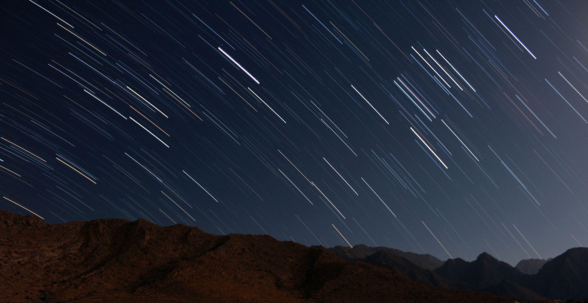 Nachthimmel - Foto: Ahmadreza Sajadi